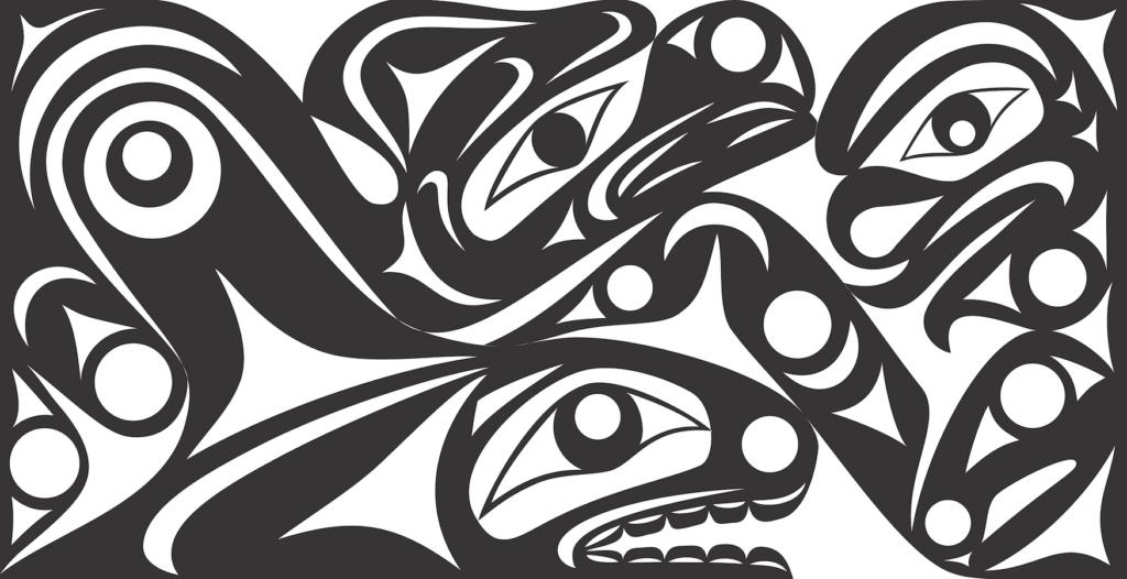 Tamanimas - Northwest Coast Design by Andrea Wilbur Sigo