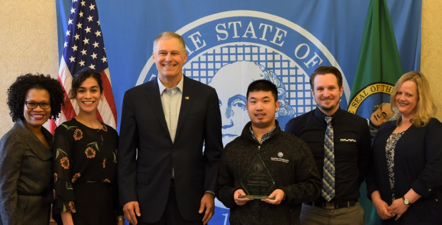 BRIDGES 1 Project Search at Seattle Children's receive Governor's Award