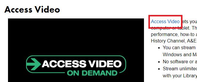 click access video link