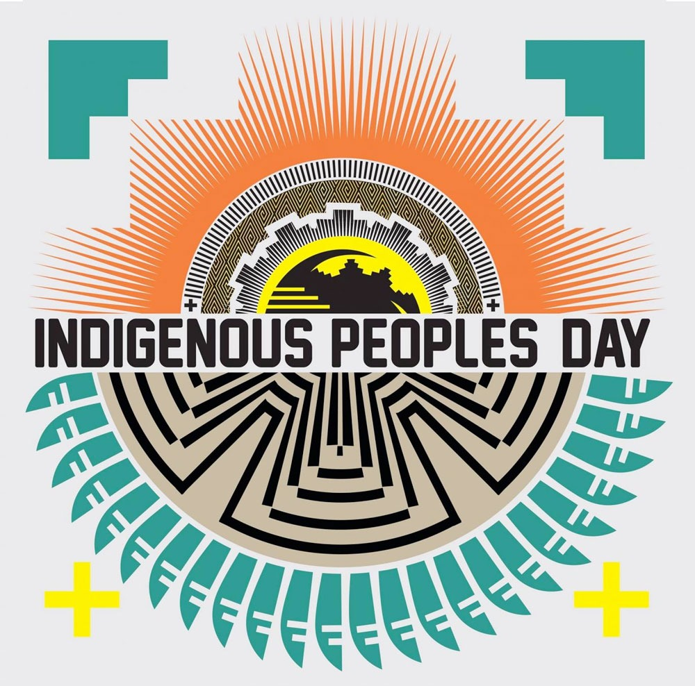 Text: Indigenous Peoples Day